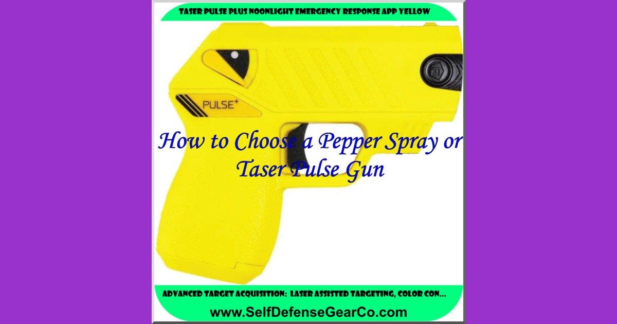 TASER Pulse Plus Noonlight Emergency Response App Yellow