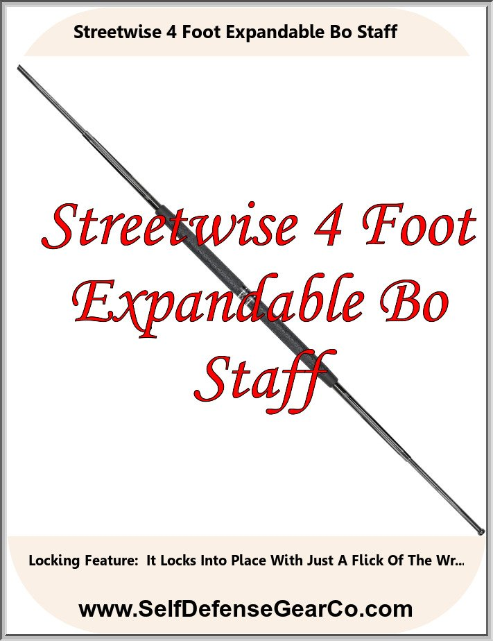 Streetwise 4 Foot Expandable Bo Staff