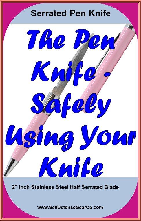 Serrated Pen Knife