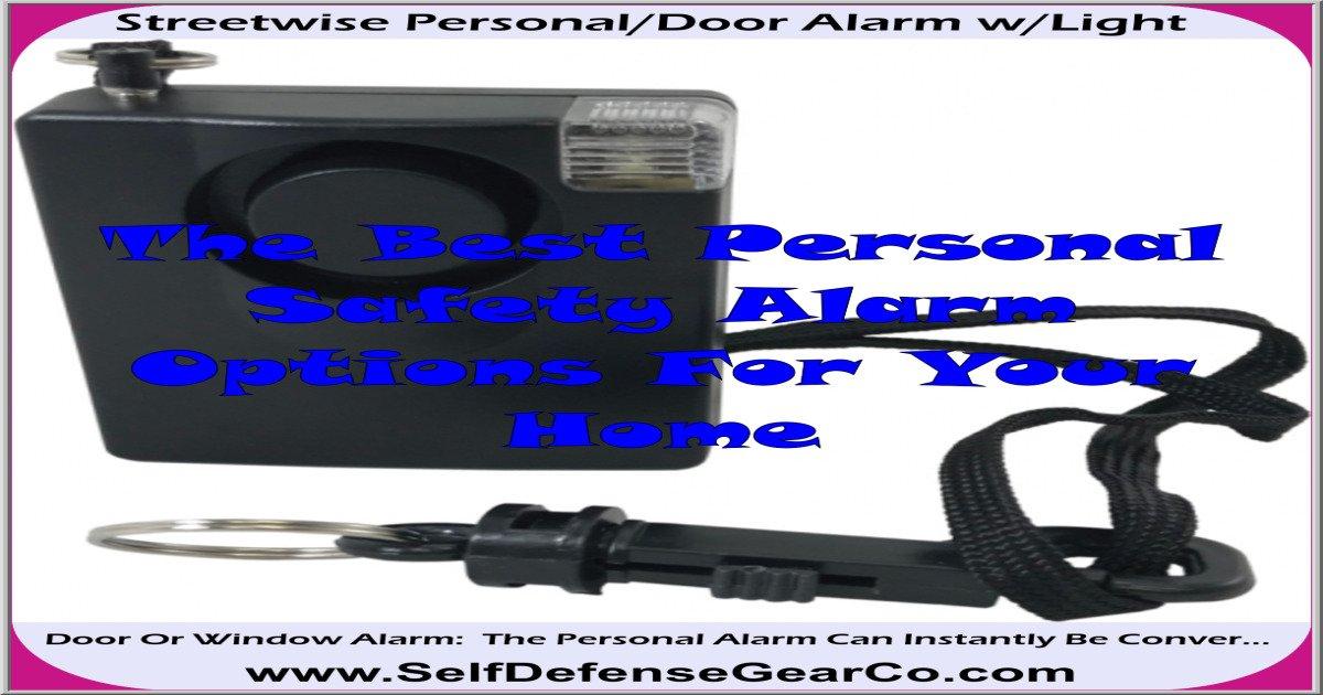 Streetwise Personal/Door Alarm w/Light