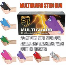 MultiGuard Stun Gun, Alarm and Flashlight