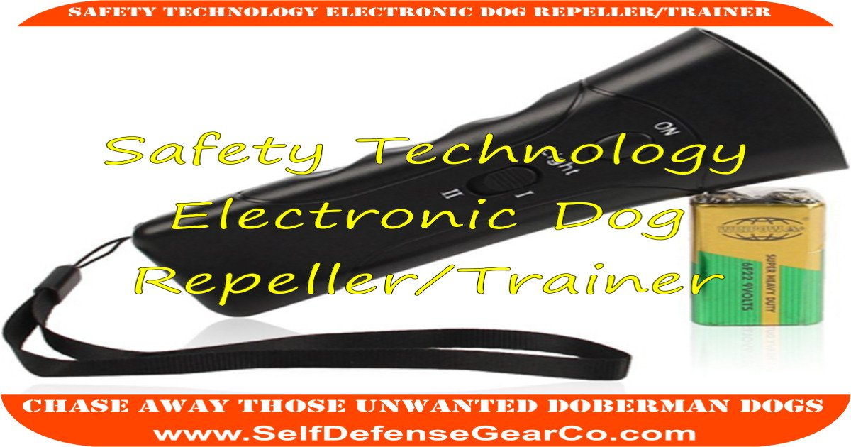 Safety Technology Electronic Dog Repeller/Trainer