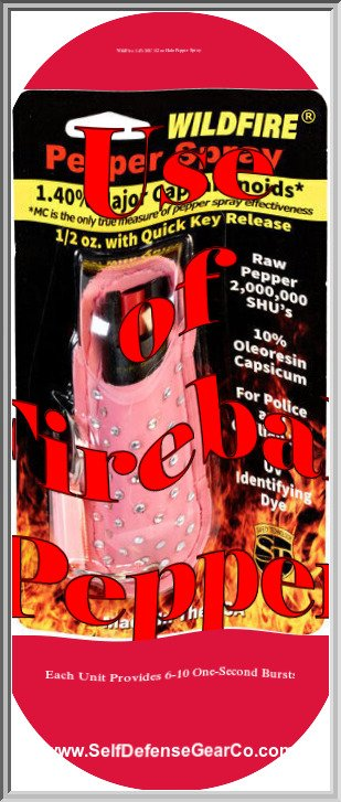 WildFire 1.4% MC 1/2 oz Halo Pepper Spray